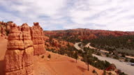 AERIAL Road through the Canyonlands National Park video