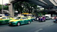 Road Traffic In Bangkok In Daytime video