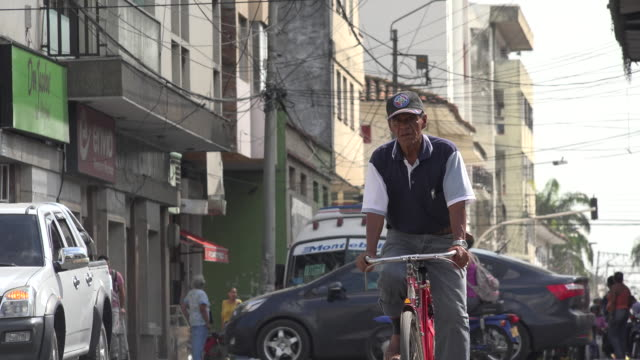 Road Traffic in Developing Nation video