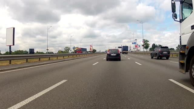 Road traffic. Peak hour. video