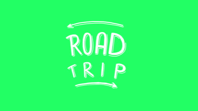 Road Trip Title video