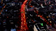Roads by Drone video