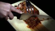 HD CLOSE UP: Roast meat video