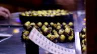 Roasted Chestnuts on Taksim Istanbul video