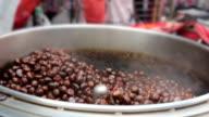 Roasting Chestnuts Street Food Thailand video