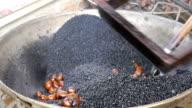 Roasting chestnuts video