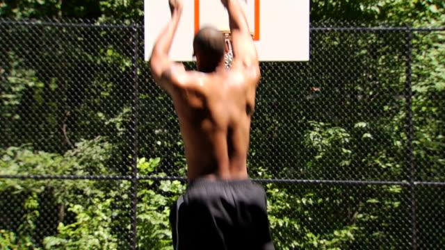 Robert's Basketball Jump Shot with Reaction video