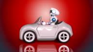 Robot driving video