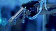 Robotic Arm - Slow Motion video