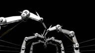 Robotic Arms Loopable video