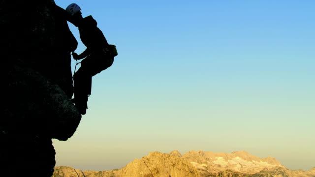 HD: Rock Climber Chalking His Hand video