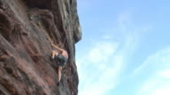Rock climber video