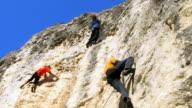 Rock Climbers video