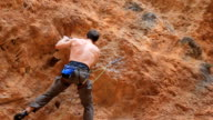 Rock climbing Extreme Sports video