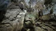 Rock Formations Inside Phong Nha Cave, Phong Nha-Ke Bang National Park, Vietnam video