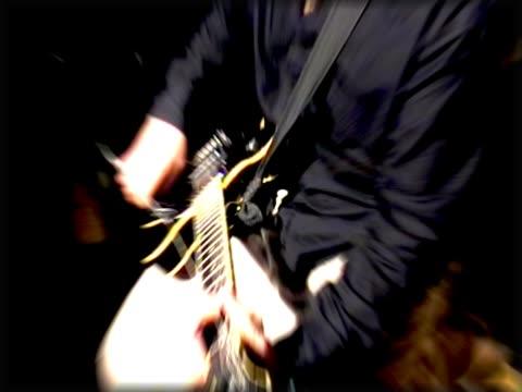 Rock guitarist video