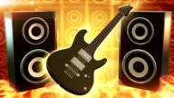 Rock music (yellow) - Loop video