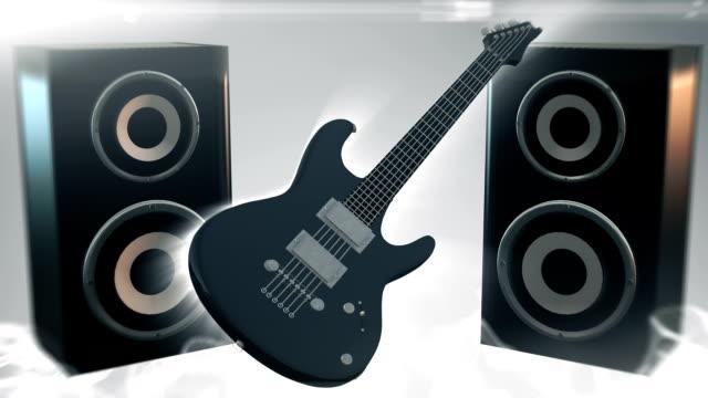 Rock music (silver) - Loop video