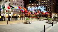 Rockefeller Centre building, NY, USA. video