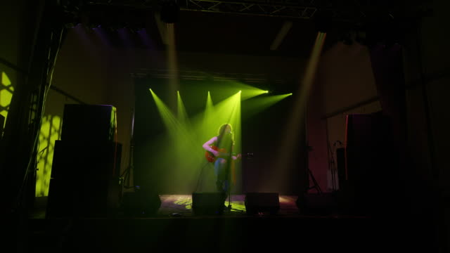 LS Rocker playing guitar and singing on the stage video