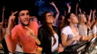 Rocking out at the show video