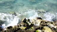 Rocks beach video