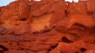 Rocks colored canyon video