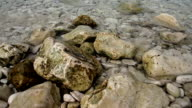rocks in the water video