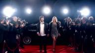 Rockstar on red carpet video