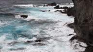 HD rocky coast in Asia Pacific video