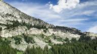 Rocky Hillside in Yosemite National Park - Time Lapse video
