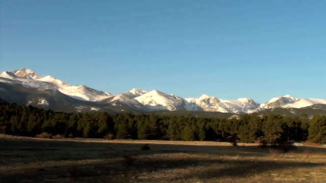 Rocky Mountain National Park Entrance (Hwy 7) video