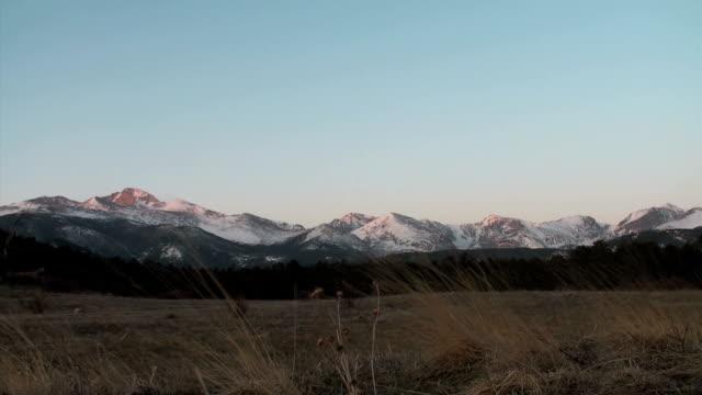 Rocky Mountain National Park Sunrise video