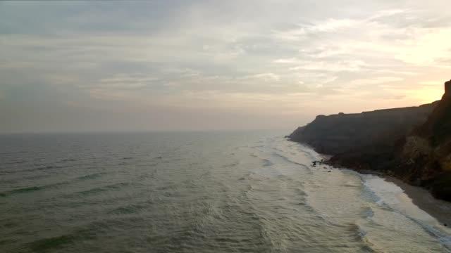 Rocky Mountains and sea coast video