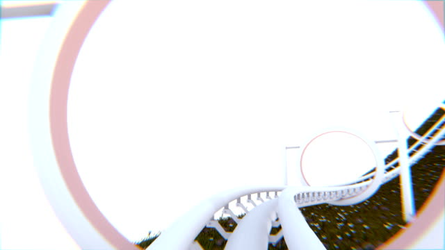 Roller Coaster CG (HD+Loop) video
