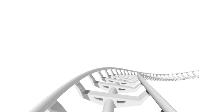 Roller Coaster loopable. video