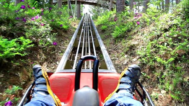 Roller Coaster Ride. video