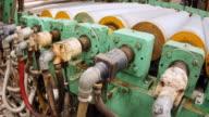 Roller of Calendering Machine video