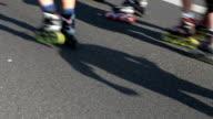 Roller skating video