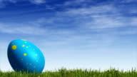 Rolling Easter Egg video