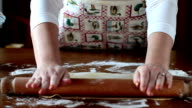 Rolling Out Pasta Sheet video