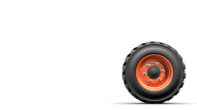 rolling truck wheel video