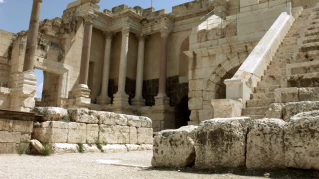 Roman amphitheater of ancient Samaria video