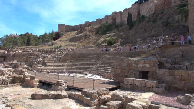 Roman Amphitheatre - Malaga, Spain video