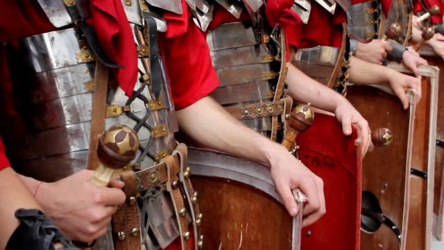 HD Roman Army - detail video