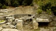 Roman Castellum, old water reservoir in Nimes France video