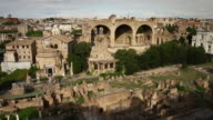 Roman Forum and Coliseum from the Palatine Hill video