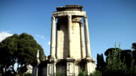 Roman Forum in Rome: The Temple of Vesta video