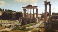Roman Forum in Rome video