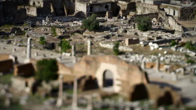 Roman Forum Panning Video HD video
